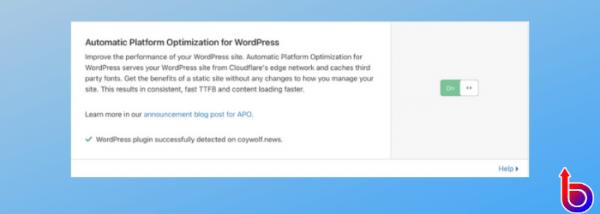 cloudflare otomatik platform optimizasyonu
